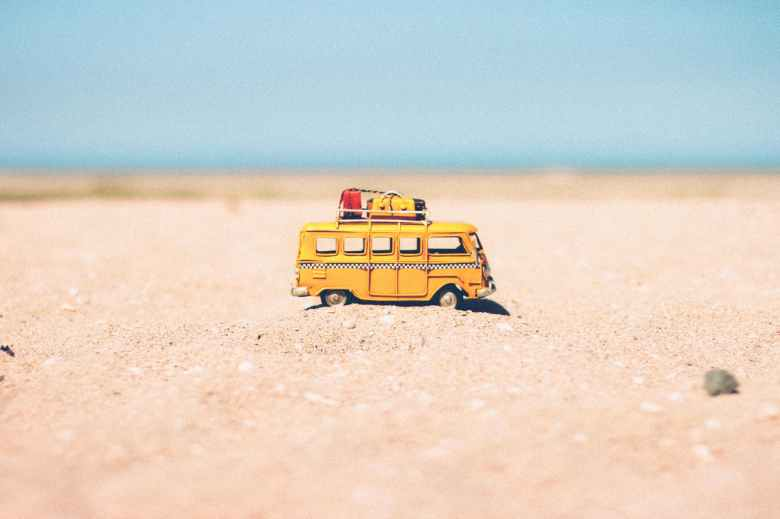 beach blur car colors
